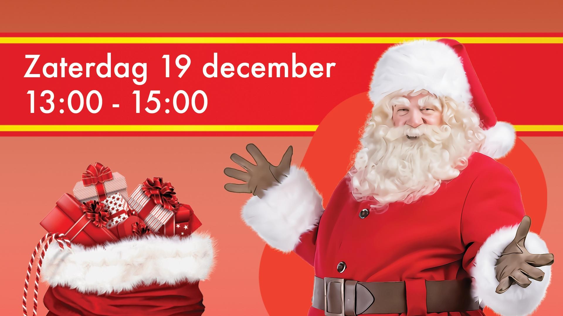De Kerstman komt naar Boulevard Kralingen!